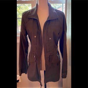 Merona Utility Jacket in Olive Green